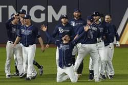 MLB》光芒9下靠失誤逆轉 單場4轟扳平道奇