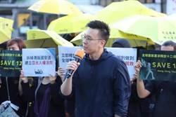 台灣撐港遊行 民進黨:力挺香港的自由