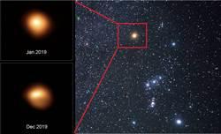 科學家重測紅巨星參宿四 至少再發光10萬年不爆炸