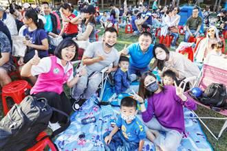紙風車《雞城故事》北大社區親子精彩開演  「變裝」追劇6000人同歡