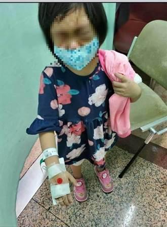 4歲女童託付閨蜜 竟遭閨蜜男友打到住加護病房