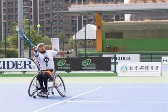 勝利盃輪椅網球賽 大馬好手奪雙冠