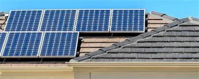 屋頂太陽能板(檔案照)