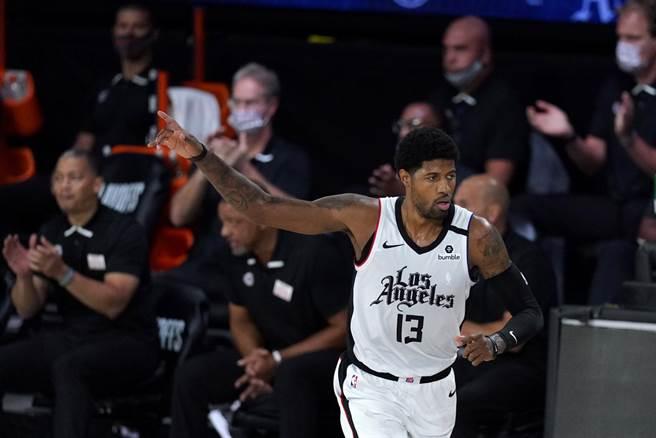 前NBA球員帕金斯公開砲轟保羅喬治只擔心自己2K能力值。(美聯社)