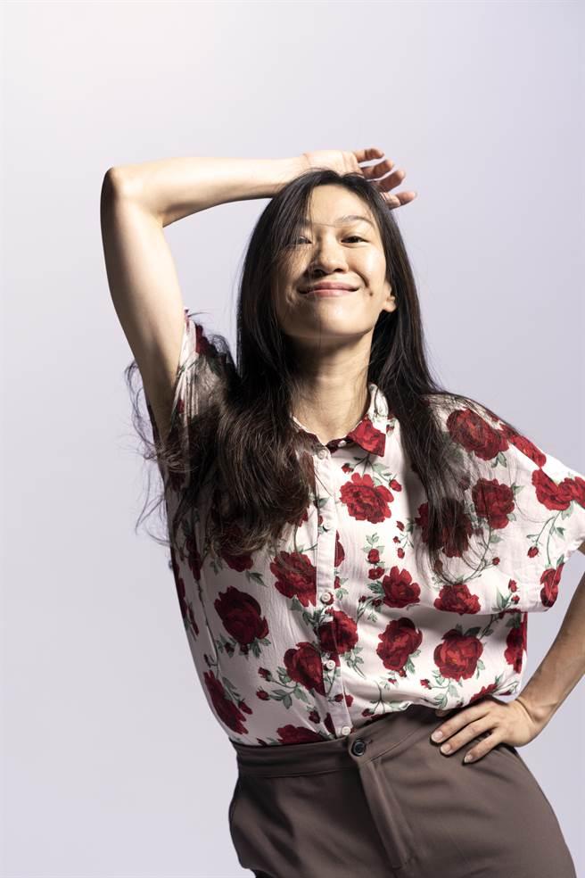 舞者林佑如今年第二度参与《身体我的名片》演出。她表示上回15分钟皆以演讲方式分享自己的舞蹈歷程,此回要观眾拭目以待。(骉舞剧场提供)
