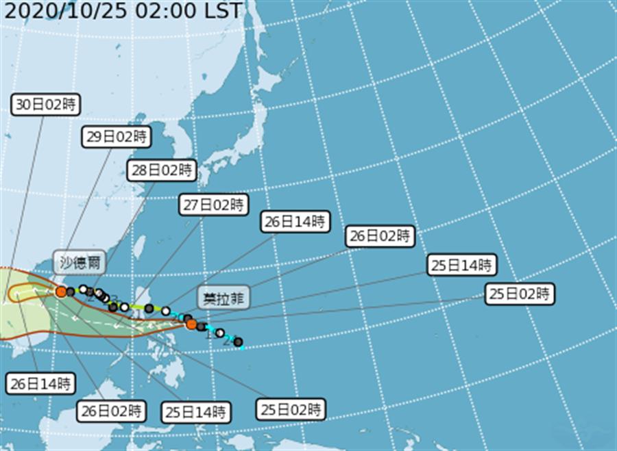 1周生成1颱風 鄭明典指這裡:真是颱風窩 原因曝光。(氣象局)