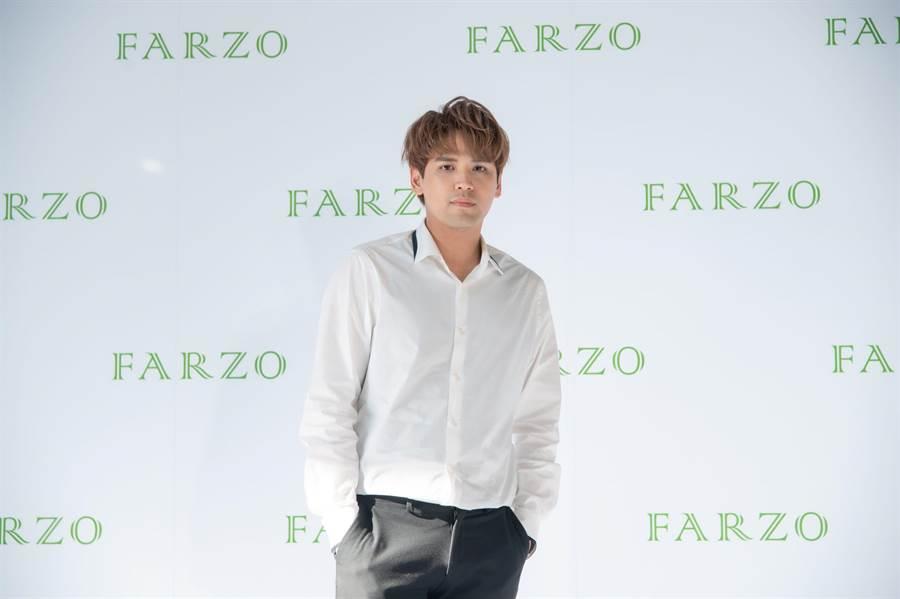 陈零九今化身美髮大使,以行动表达品牌理念与特色。(FARZO花柔自然萃提供)