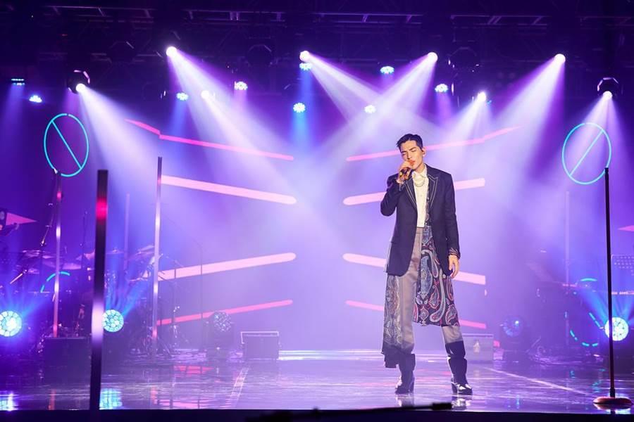 老萧今晚举办线上音乐会。(Tme live提供)