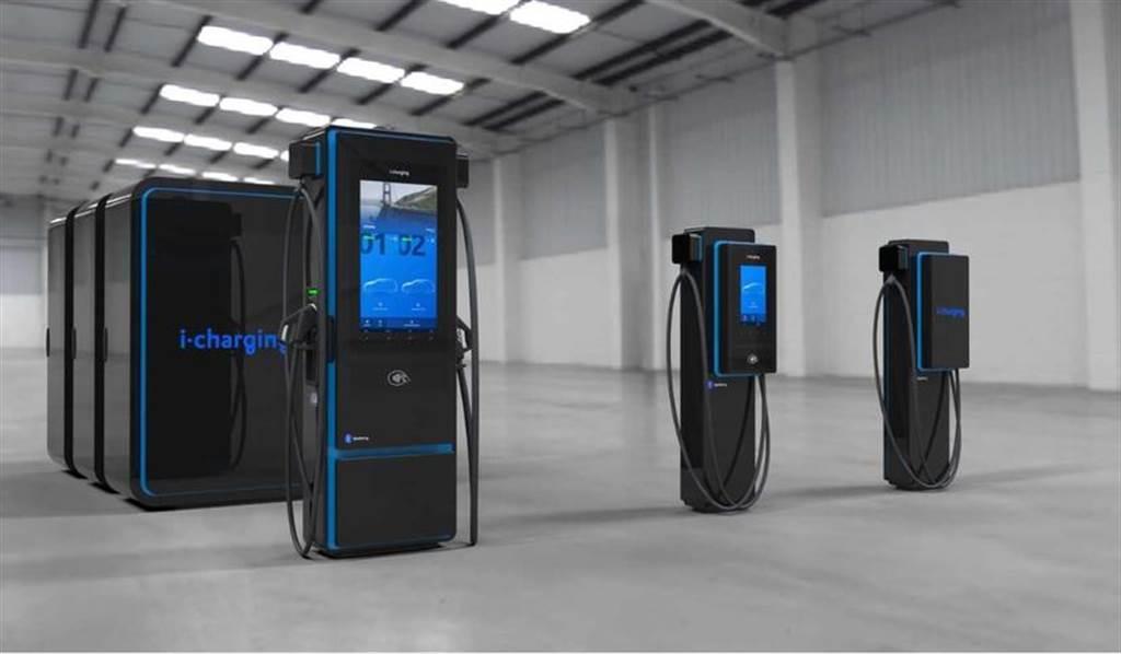 超狂 600kW!i-charging「藍莓」充電站功率比特斯拉 V3 超充高 2.4 倍