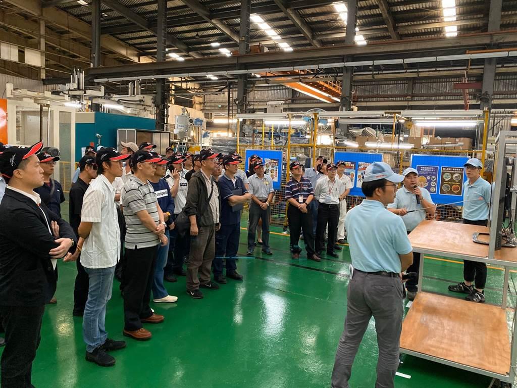 中華汽車分享自身節能經驗,協助協力廠導入節能設備。