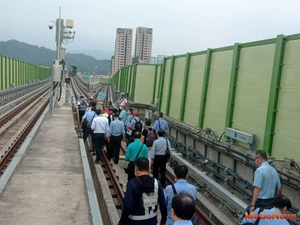 交通部於10月25日完成台中捷運綠線履勘(圖/台中市政府)