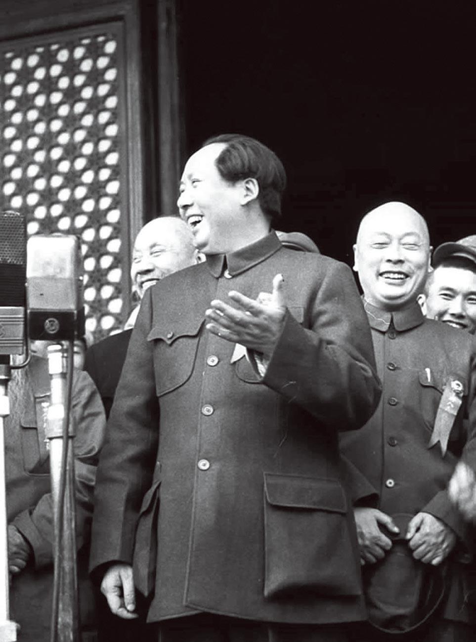 毛澤東。(新華社資料照片)