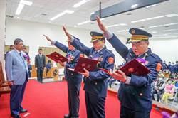 新竹縣警局卸新任分局長聯合交接典禮