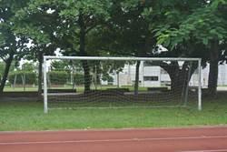 全民運上週才剛落幕 運動場上足球門卻憑空消失