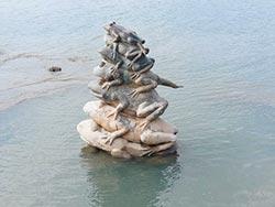 7蛙露面 日月潭供水吃緊