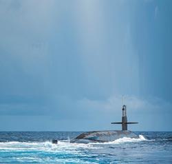 台運-8海演訓 尋美軍核潛艦