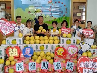 8年前曾捐3000斤瓜子 今再捐3000斤大白柚義賣助學