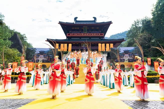 縉雲祭軒轅黃帝,古禮祭典可上溯至夏朝。(主辦單位提供)