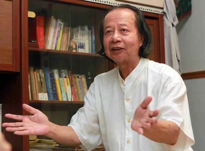 作家七等生81歲辭世,生前創作以小說為主,兼及詩、散文與攝影等作品。(資料照片 趙雙傑攝)