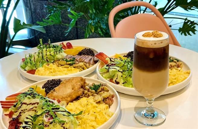 藜麥美顏系早午餐、紅寶石火龍果登場 激推超好喝「燕麥奶拿鐵」(圖/楊婕安攝)