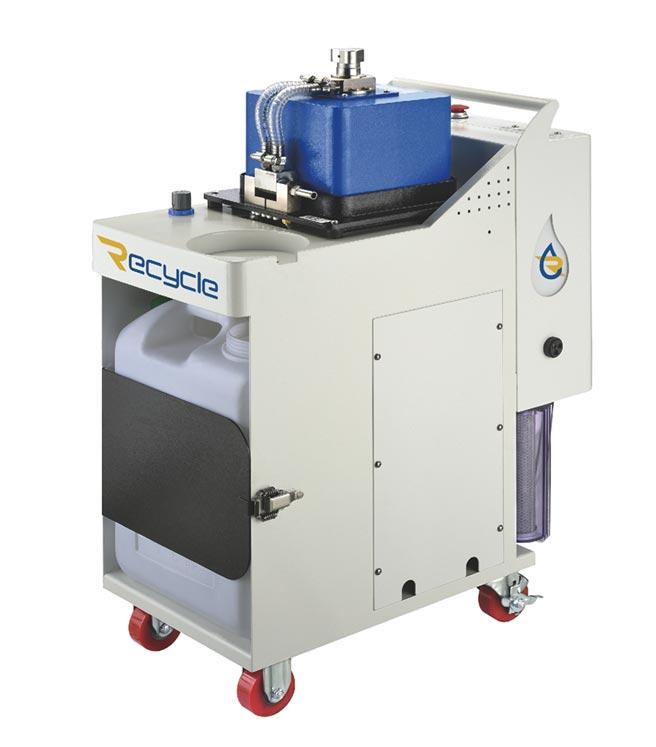 長泰精密「Recycle濾思可」CT-EX離心式三相分離機適合金屬加工、化工、餐飲、壓鑄、脫脂清洗、及各種有廢油、乳化物、雜質處理需求之產業,歡迎有需求的廠商免費試機。圖/長泰精密提供