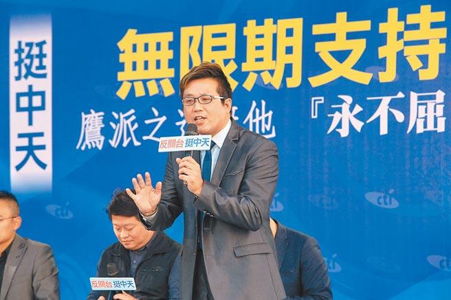 桃園市議員黃敬平(陳信翰攝)