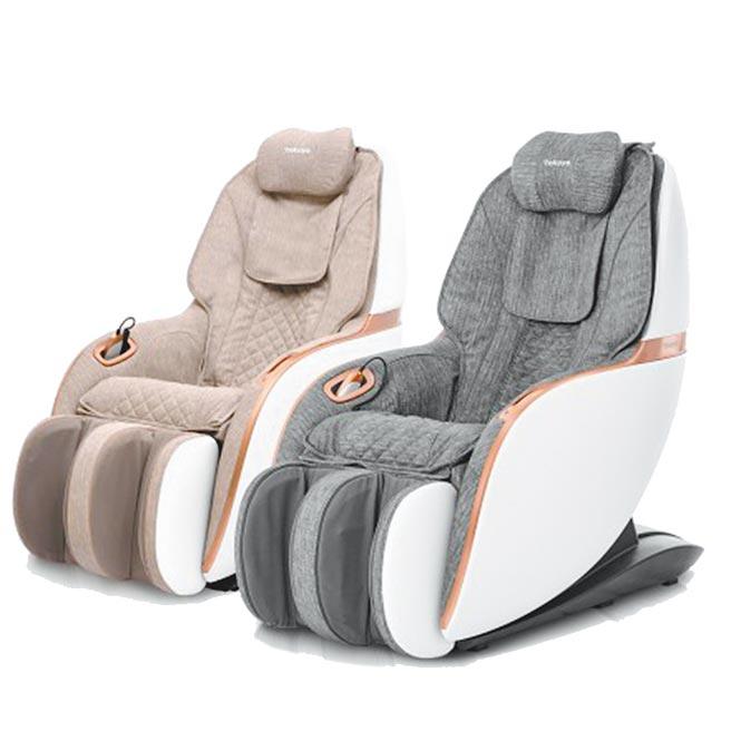Global Mall新北中和店的tokuyo Mini玩美椅Pro,原價5萬2800元,11月1日前優惠價3萬8800元。(Global Mall提供)