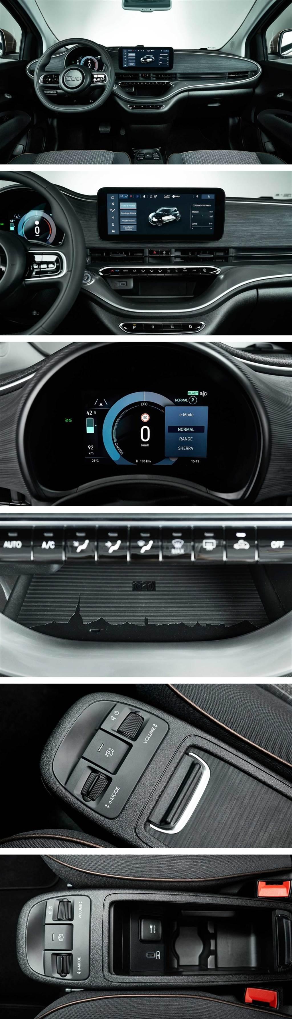 多一扇門更方便,純電都會精靈 FIAT 500e 3+1 規格亮相!