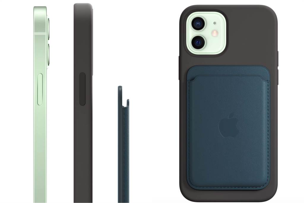 iPhone 12系列磁吸式無線充電線圈可能會將部分磁卡消磁,官方建議使用MagSafe皮革卡套。(摘自蘋果官網)