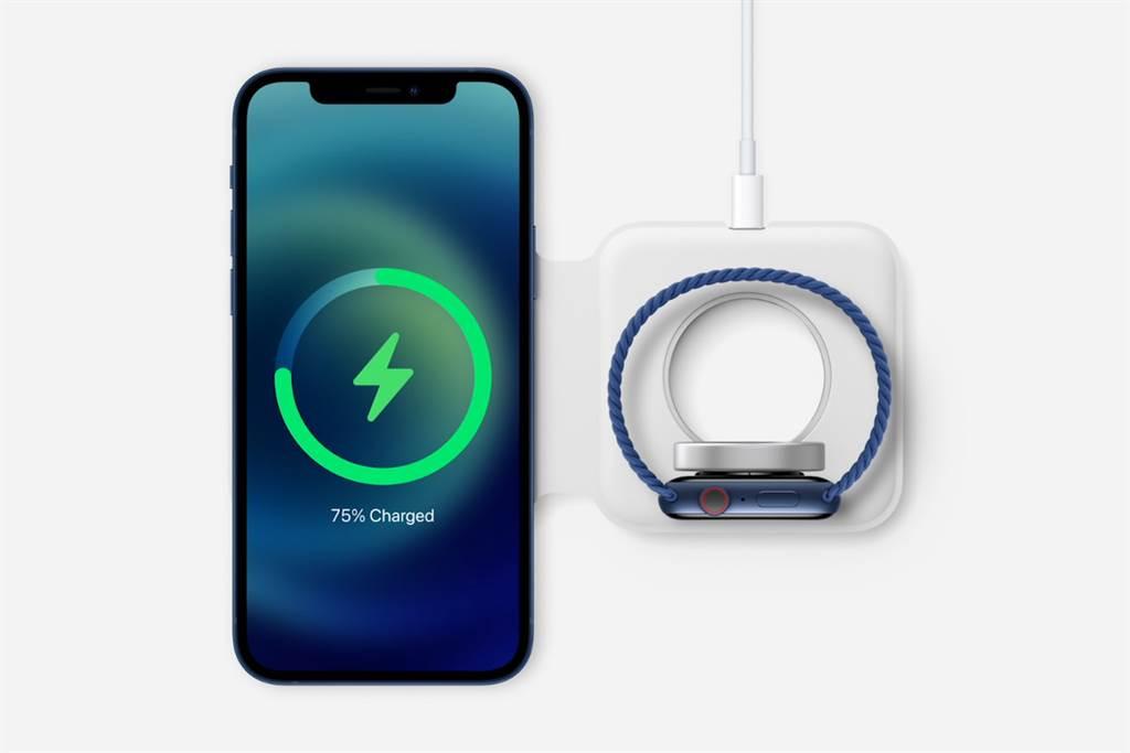 MagSafe Duo充電器雖還未在蘋果官網上架,但據了解也將在台開賣。(摘自蘋果官網)