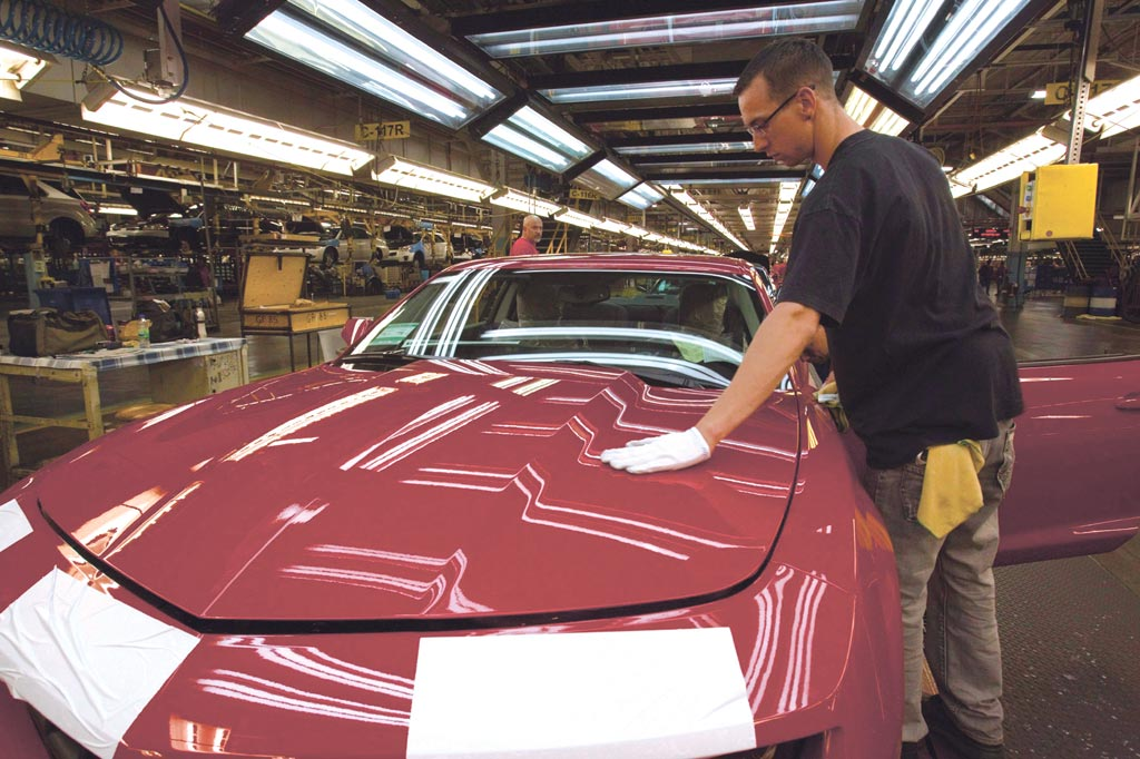 儘管許多車廠的銷量仍低於一年前的水準,但分析師認為,9月銷售速度已經接近疫情前的水準。圖/美聯社