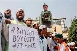 孟加拉首都爆發反法大遊行  法總統頭像遭民眾燒毀