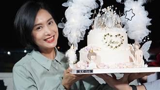 朱茵歡慶49歲性感登封 洩「膝上30cm絕對領域」超火辣