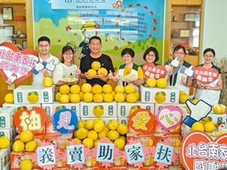 台南浪子回頭 捐3千台斤大白柚助學