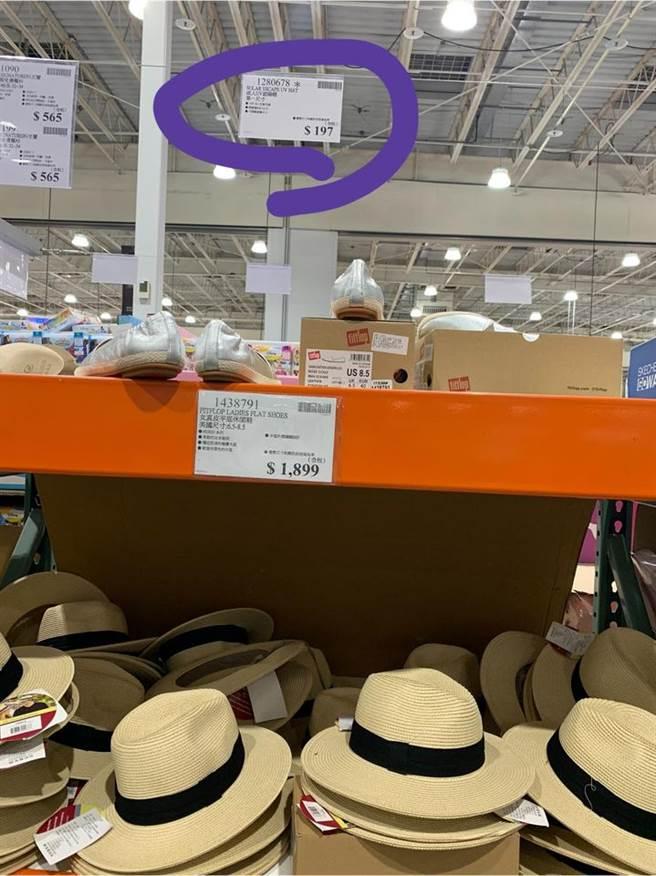 一位女網友近日在賣場上發現,一頂原價約500元的遮陽帽,只賣不到200元的價錢,直呼「也太便宜了吧!」(摘自Costco好市多 商品經驗老實說)