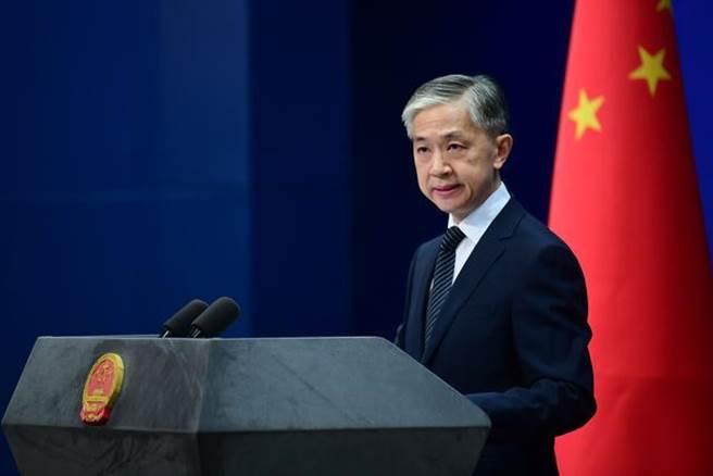 大陆外交部发言人汪文斌就美对台军售回应。取自环球网