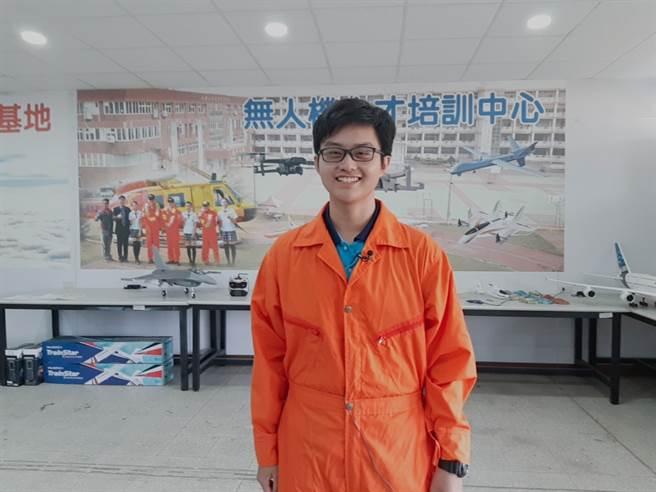 大德工商學生鍾圳垚。(campus編輯室攝)