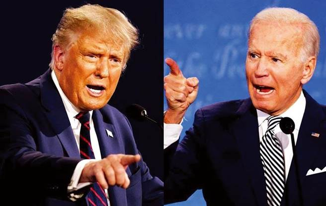 台灣人過半支持川普?網分析爆可怕下場。圖為 美國總統川普(左)、美國民主黨總統候選人 拜登(圖右)。(圖/美聯社、路透)
