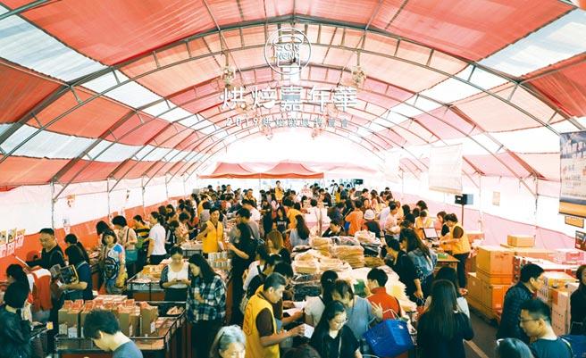 2019年三能集團台中大里總部烘焙器具特賣會現場。圖/三能集團提供