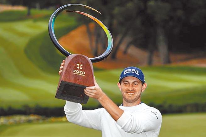 28歲美國職業高球選手坎特利,生涯三座PGA冠軍都是在逆境中獲勝。(美聯社)