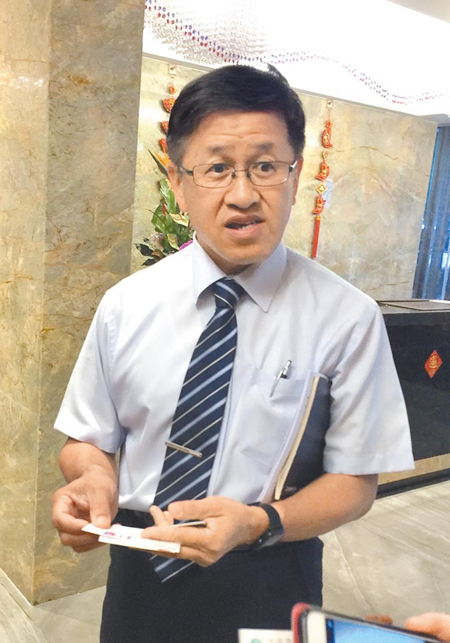 士林農會理事長葉文忠。(本報資料照片)