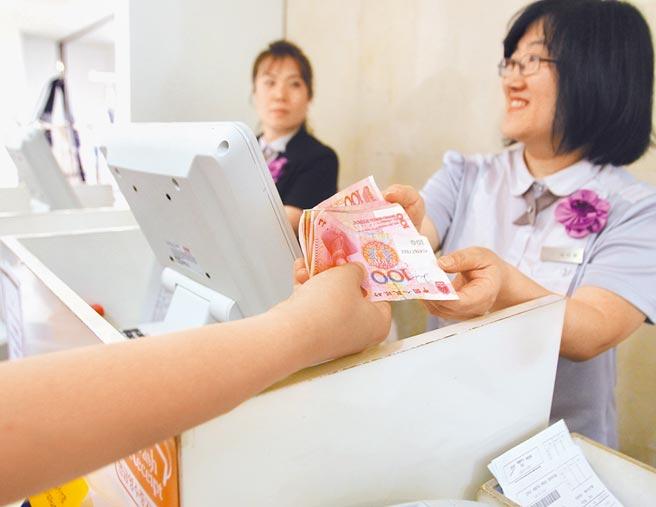 紙鈔能買的東西數位人民幣也能購買。(新華社資料照片)