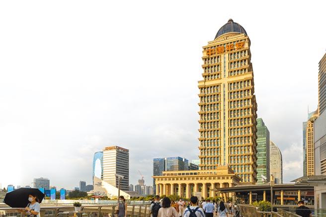 上海陸家嘴金融中心中國平安金融大廈。(視覺中國)