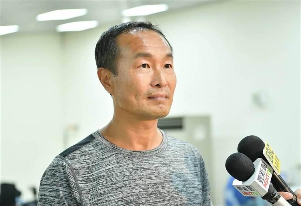 台北市體育局局長李再立。