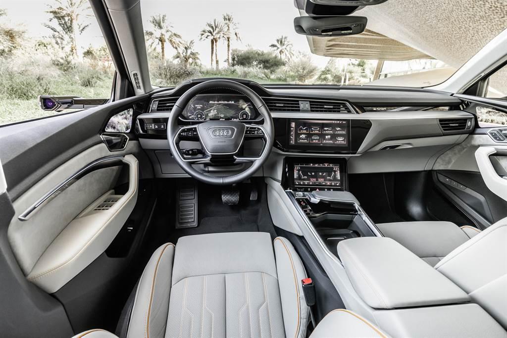 Audi全數位虛擬後視鏡 科技創舉引領純電生活圈
