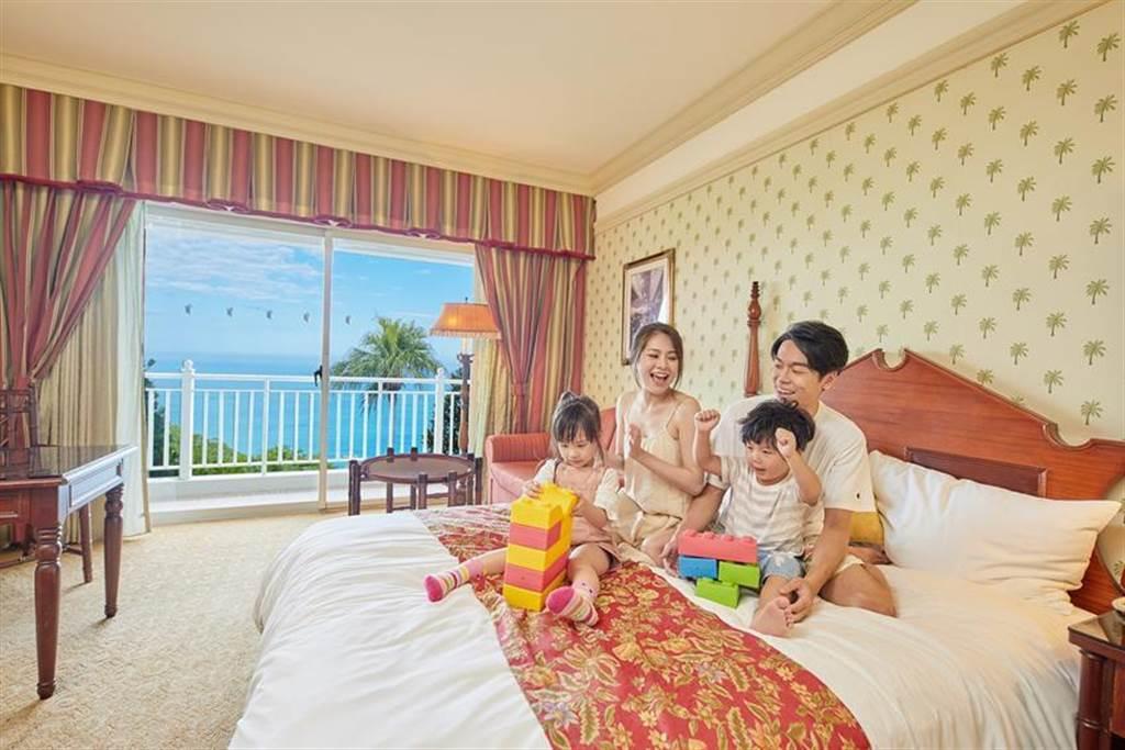 (遠雄悅來大飯店參加ITF台北國際旅展,住宿券最低下殺41折。圖/遠雄悅來大飯店)