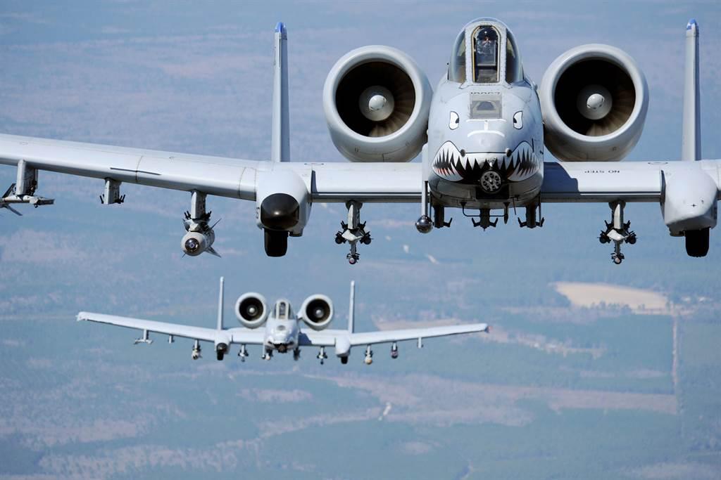 美軍A-10攻擊機。(圖/美國空軍)