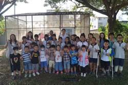 食农课经验传承  官小六年级学童教幼儿园小朋友种草莓