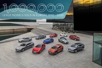遲來的榮耀,Lexus歐洲全車系銷量突破100萬輛成就!