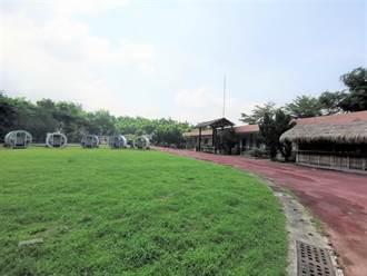 離二寮觀日平台5分鐘車程  岡林國小露營地重新開放